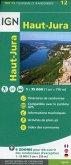 IGN Karte, Tourisme et Randonnée Haute-Jura