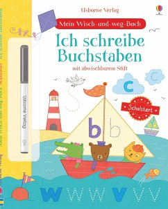 Mein Wisch-und-weg-Buch Schulstart: Ich schreibe Buchstaben - Watson, Hannah