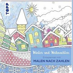 Entspannen mit Malen nach Zahlen - Winter und W...