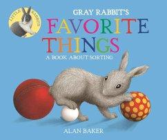 Gray Rabbit´s Favorite Things