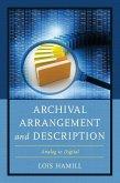 Archival Arrangement and Description
