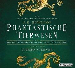 Image of Phantastische Tierwesen und wo sie zu finden sind / Phantastische Tierwesen Bd.1 (2 Audio-CDs)