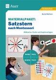 Materialpaket Satzstern nach Montessori