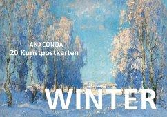 Postkartenbuch Winter - Anaconda