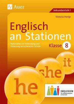 Englisch an Stationen 8 Inklusion - Hertje, Victoria