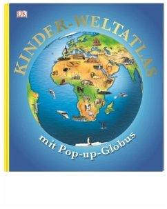 Kinder-Weltatlas mit Pop-up-Globus