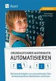 Grundaufgaben Mathematik automatisieren 1x1 & 1÷1
