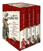 Piraten - Die großen Romane: Der rote Freibeuter - Klaus Störtebeker - Der schwarze Korsar - Die Schatzinsel (Restexemplar)