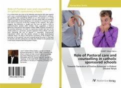 Role of Pastoral care and counselling in catholic sponsored schools