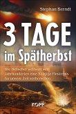 3 Tage im Spätherbst (eBook, ePUB)