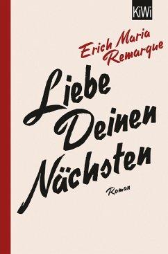 Liebe deinen Nächsten (eBook, ePUB) - Remarque, E.M.