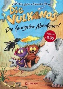 Die feurigsten Abenteuer / Vulkanos Bd.1-3 - Gehm, Franziska