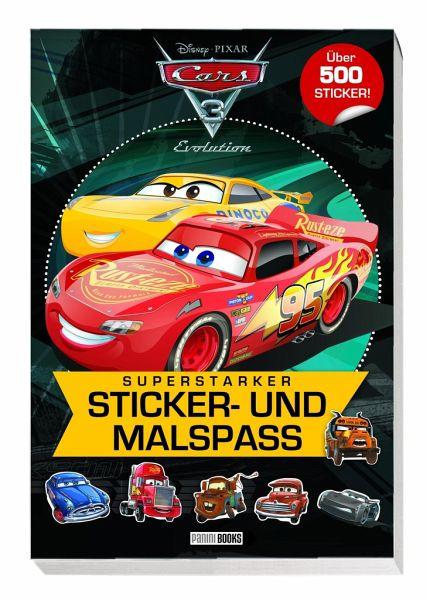 Disney Cars 3 Superstarker Sticker Und Malspaß