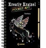 Kreativ-Kratzel Pocket Art: Fantasy