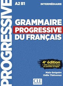 Grammaire progressive du français - Niveau intermédiaire. Buch + Audio-CD