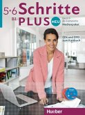 Medienpaket, CDs und DVD zum Kursbuch / Schritte plus Neu - Deutsch als Fremdsprache / Deutsch als Zweitsprache 5+6