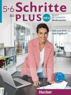Medienpaket, CDs und DVD zum Kursbuch / Schritt...