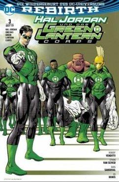 Hal Jordan und das Green Lantern Corps