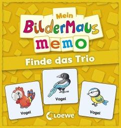 Mein Bildermaus-Memo - Finde das Trio (Kindersp...