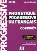 Phonétique Progressive du Français, Niveau intermédiaire, 2e édition, Corrigés