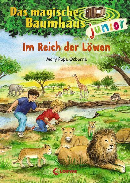 Im Reich der Löwen / Das magische Baumhaus junior Bd.11