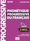 Phonétique progressive du français. Niveau intermédiaire. Buch + Audio-CD