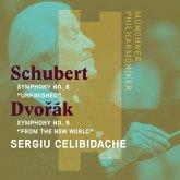 """Sinfonie 8""""Die Unvollendete""""/Sinfonie 9""""Aus"""