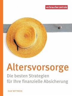 Altersvorsorge - Wittrock, Olaf; Verbraucherzentrale NRW