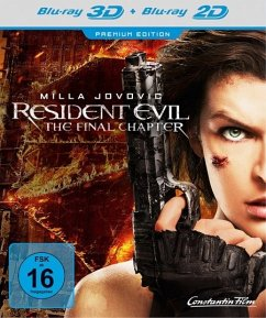 Resident Evil: The Final Chapter (Blu-ray 3D + Blu-ray)