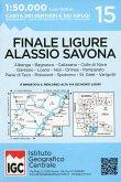 IGC Wanderkarte Finale Ligure - Alassio - Savona
