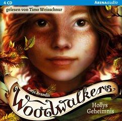 Hollys Geheimnis / Woodwalkers Bd.3 (4 Audio-CDs) - Brandis, Katja