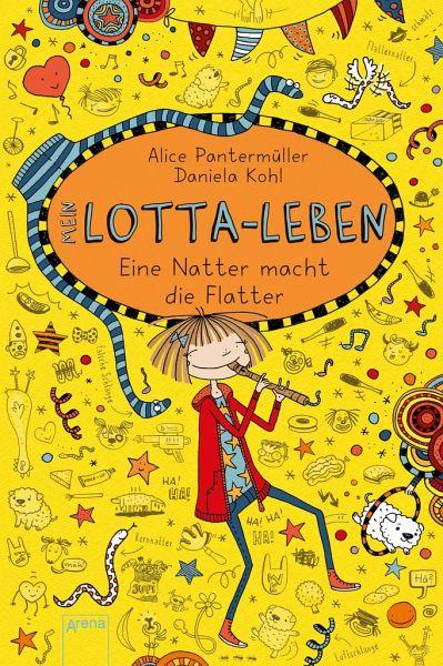 Eine Natter macht die Flatter / Mein Lotta-Leben Bd.12 - Pantermüller, Alice