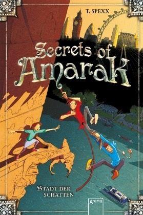 Buch-Reihe Secrets of Amarak