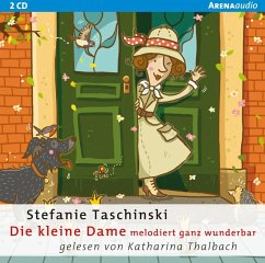 Die kleine Dame melodiert ganz wunderbar / Die kleine Dame Bd.4 (2 Audio-CDs) - Taschinski, Stefanie