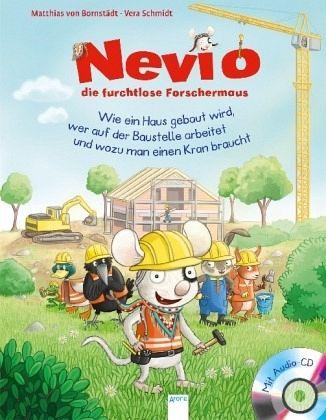 Buch-Reihe Nevio die furchtlose Forschermaus