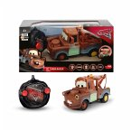 Dickie 203084008 - Disney Cars 3 - RC Turbo Racer Mater mit Fernsteuerung