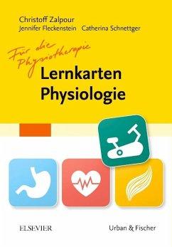 Lernkarten Physiologie für die Physiotherapie - Zalpour, Christoff
