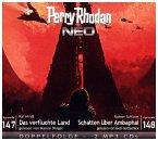 Das verfluchte Land & Schatten über Ambaphal / Perry Rhodan - Neo Bd.147+148 (2 MP3-CDs)