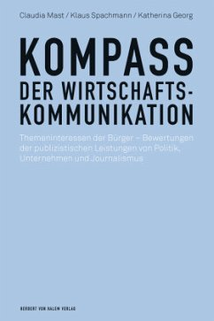 Kompass der Wirtschaftskommunikation - Mast, Claudia; Spachmann, Klaus; Georg, Katherina