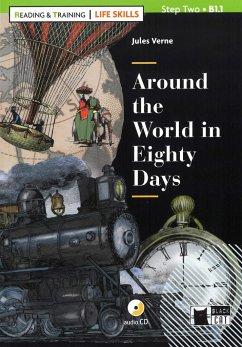 Around the World in Eighty Days. Buch + Audio-CD - Verne, Jules