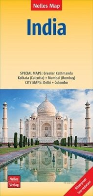 Nelles Map Landkarte India