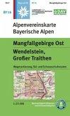 Alpenvereinskarte Mangfallgebirge Ost, Wendelstein, Großer Traithen