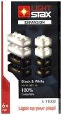 Light Stax, Bausteine, Expansion (black & white)