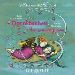 Dornröschen und Der gestiefelte Kater, 1 Audio-CD - Grimm, Jacob; Grimm, Wilhelm