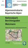Alpenvereinskarte Nationalpark Berchtesgaden, Watzmann