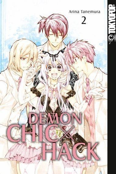 Buch-Reihe Demon Chic x Hack