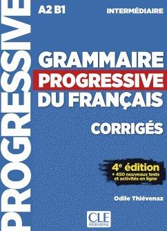 Grammaire progressive du français, Niveau intermédiaire. Lösungsheft + Online