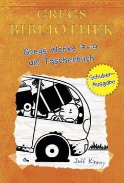 Gregs Bibliothek - Gregs Werke 7 - 9 als Taschenbuch - Kinney, Jeff