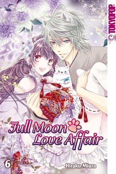 Buch-Reihe Full Moon Love Affair