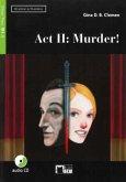 Act II: Murder! Buch + Audio-CD